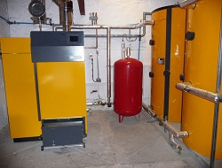 Biomass Heating System